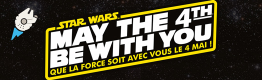 Plan�te Star Wars vous souhaite un tr�s bon 4 mai 2015 ! May the 4th be with you !