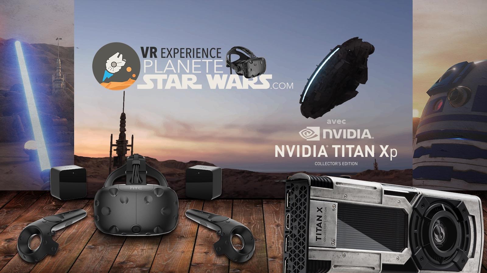 Planete-StarWars.com VR Experience, Immergez-vous dans Star Wars !