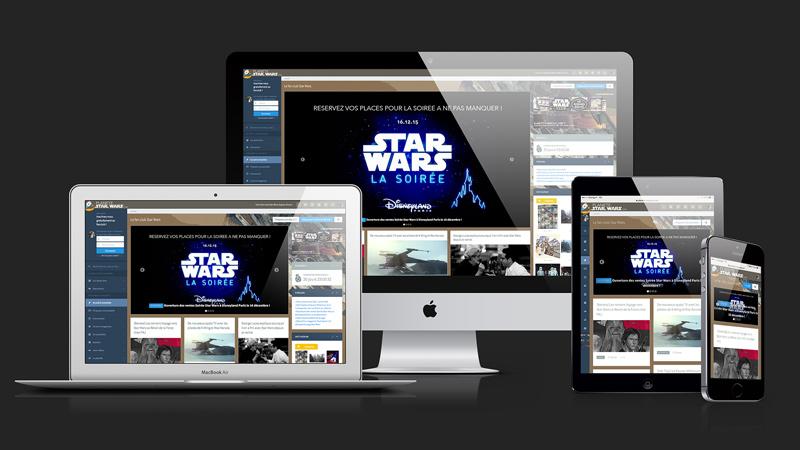 Le nouveau Planète Star Wars responsive !