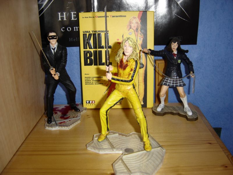 Photo 10 - figurines Kill Bill et DVD