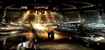 Hangar du Temple Jedi