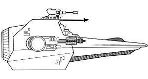 Corsair class Starfighter