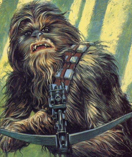 Enfance de Chewbacca