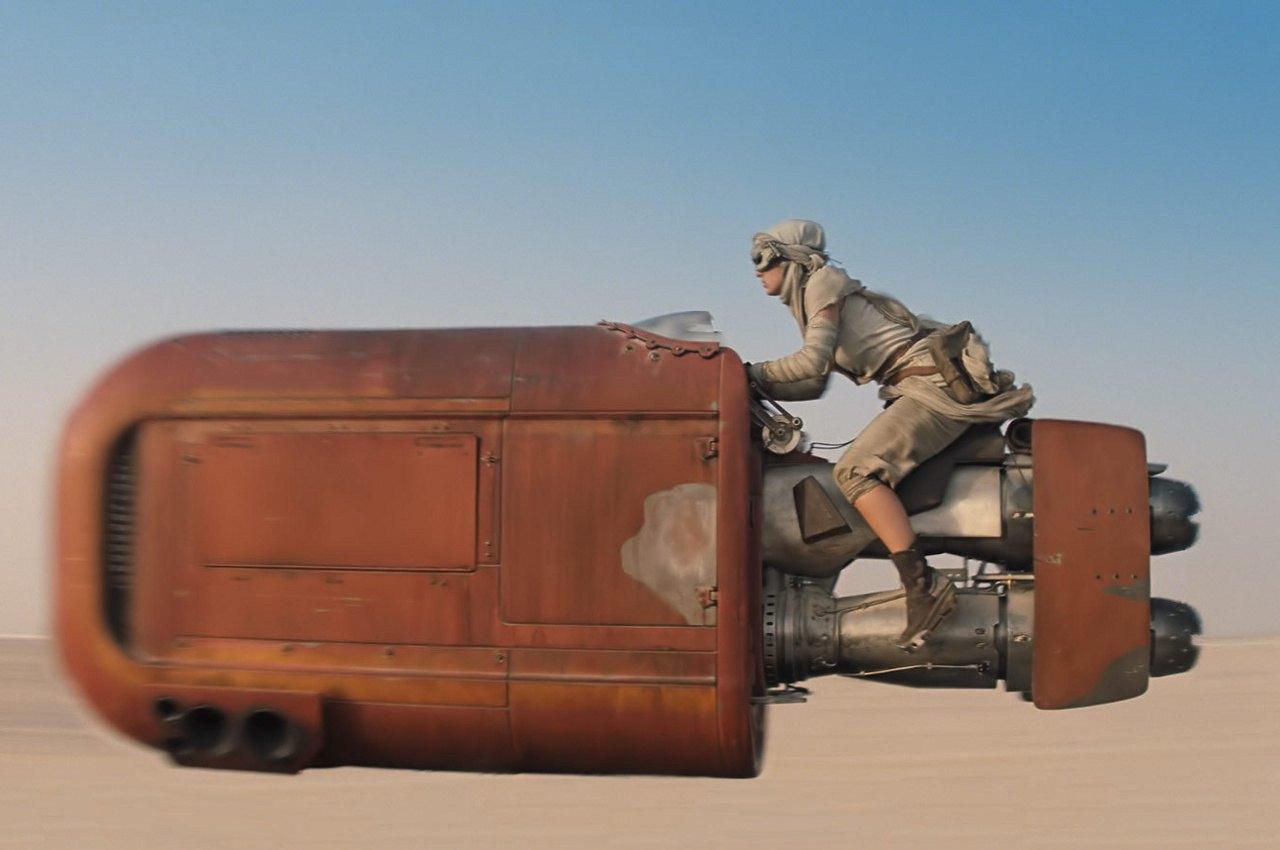 Speeder de Rey