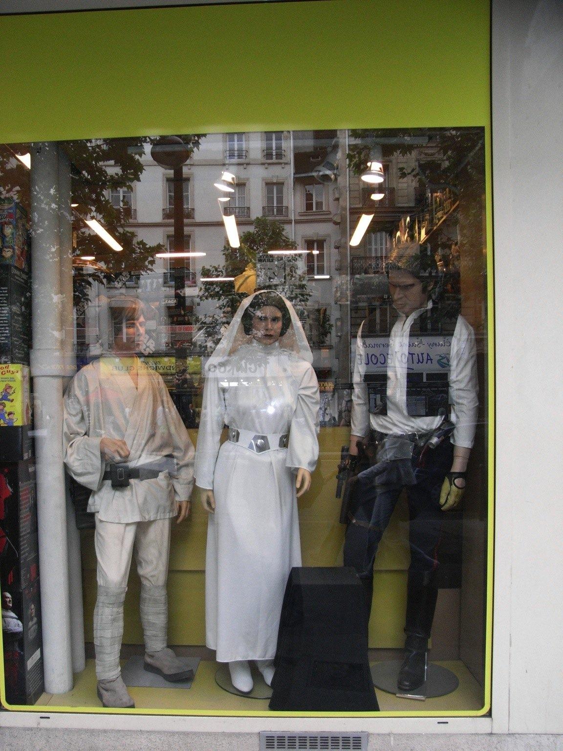 Photo 16 - Luke, Leia et Han (on sait jamais, lol!)