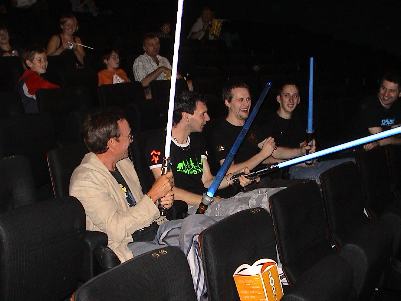 Photo 3 - Prêts pour le film!