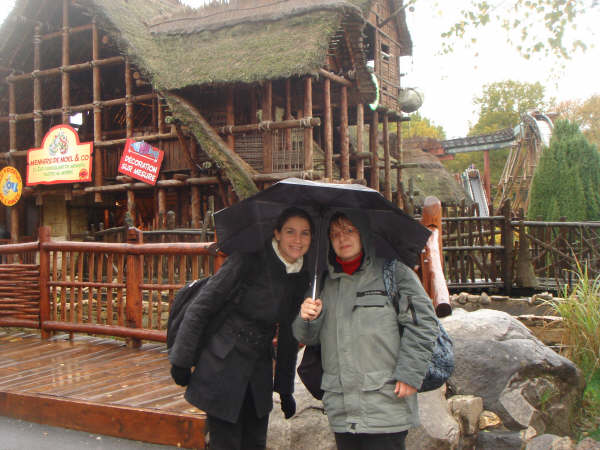 Photo 72 - Camie et Padmeia sous la pluie