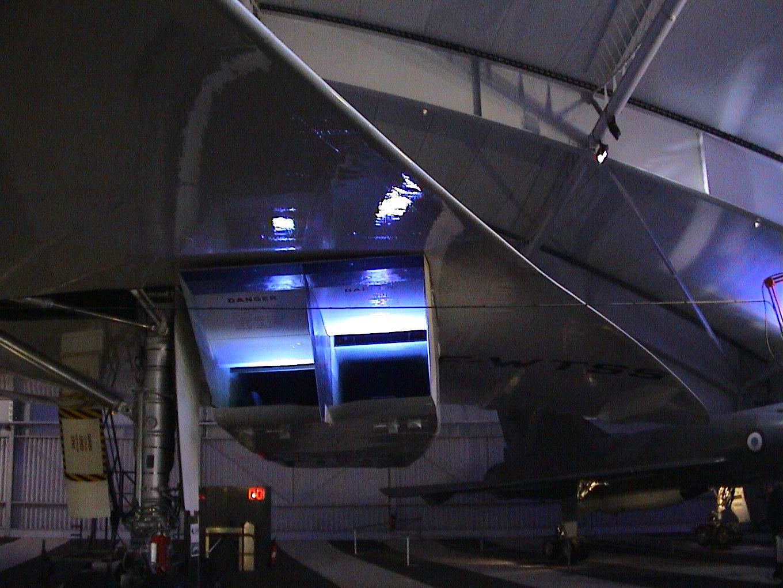 Photo 43 - Réacteurs de Concorde
