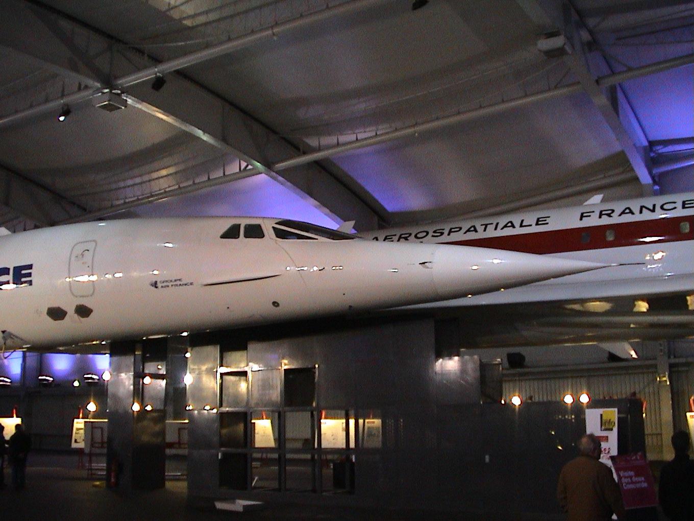 Photo 44 - L'avant du Concorde