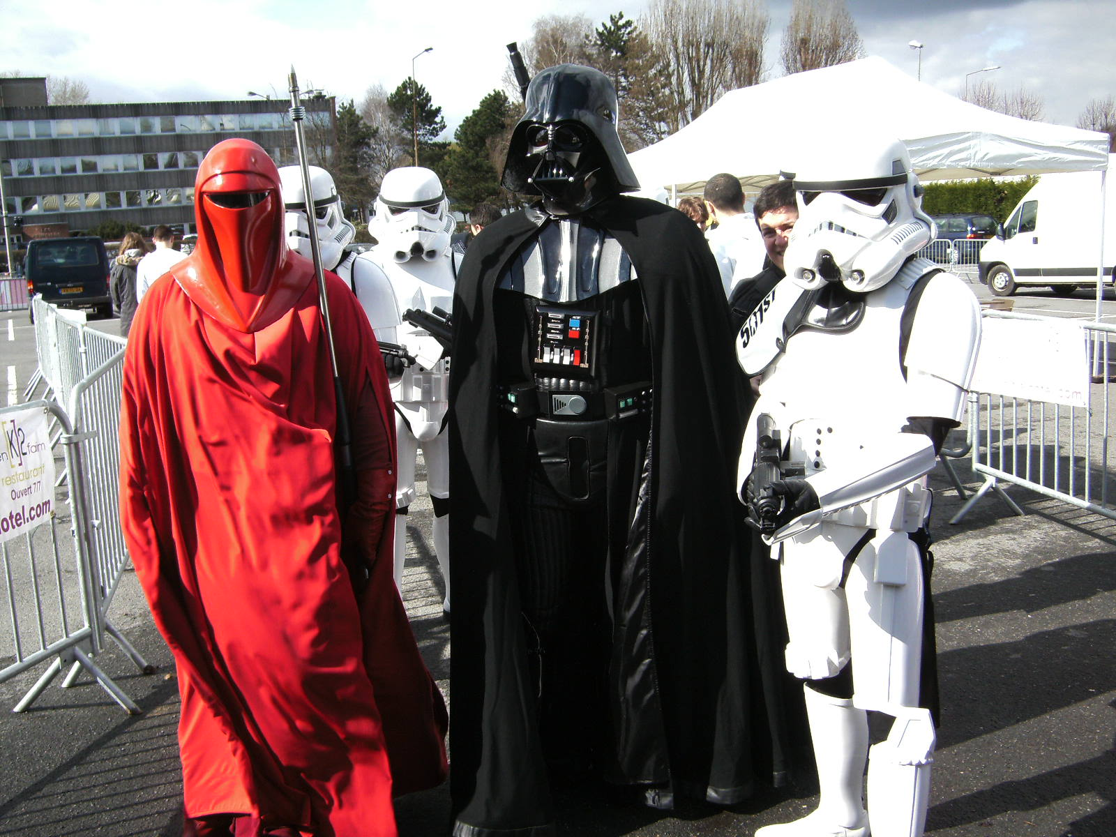 Photo 23 - Vader et ses potes, lol!