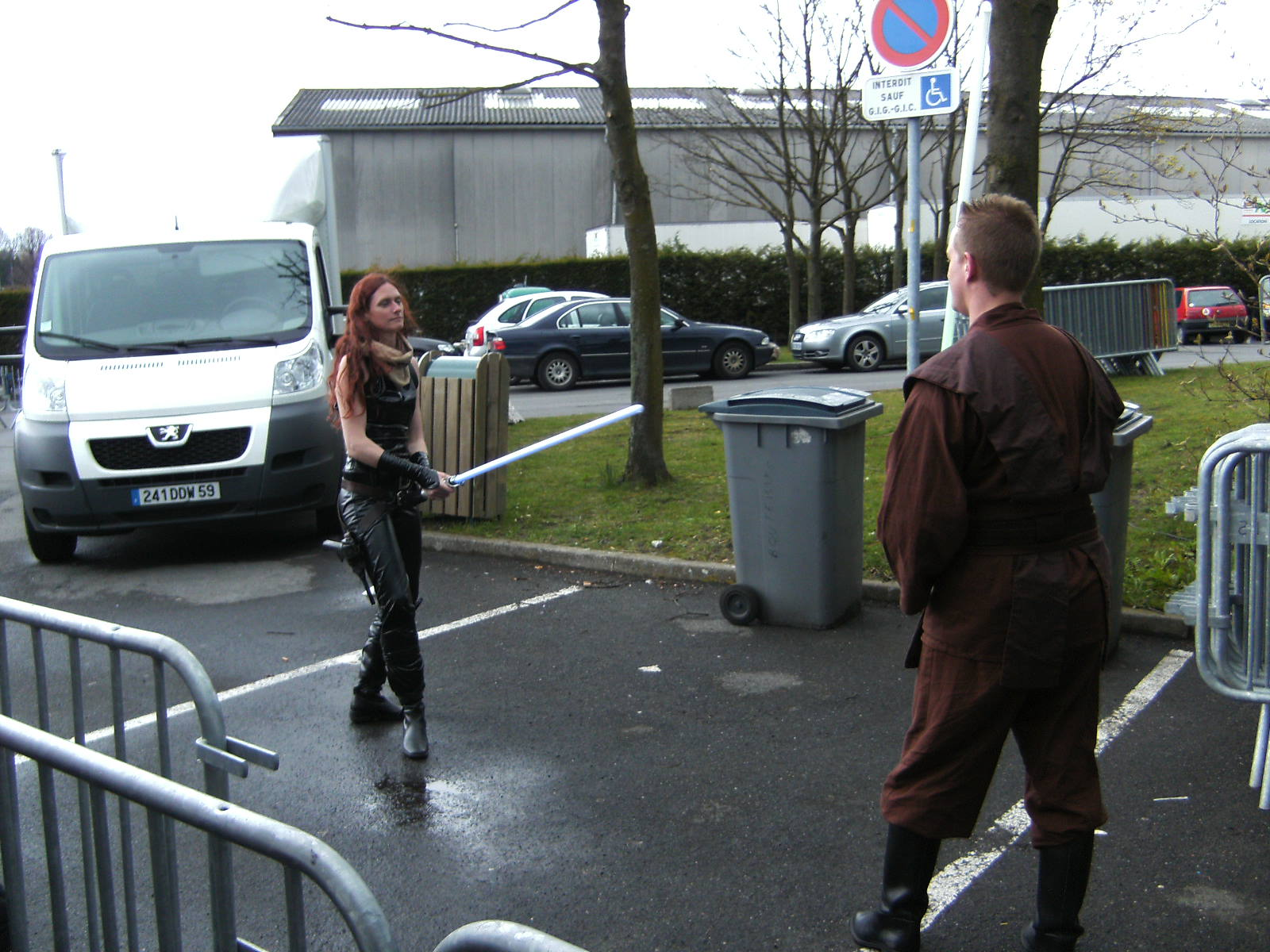 Photo 33 - Mara Jade à l'entraînement