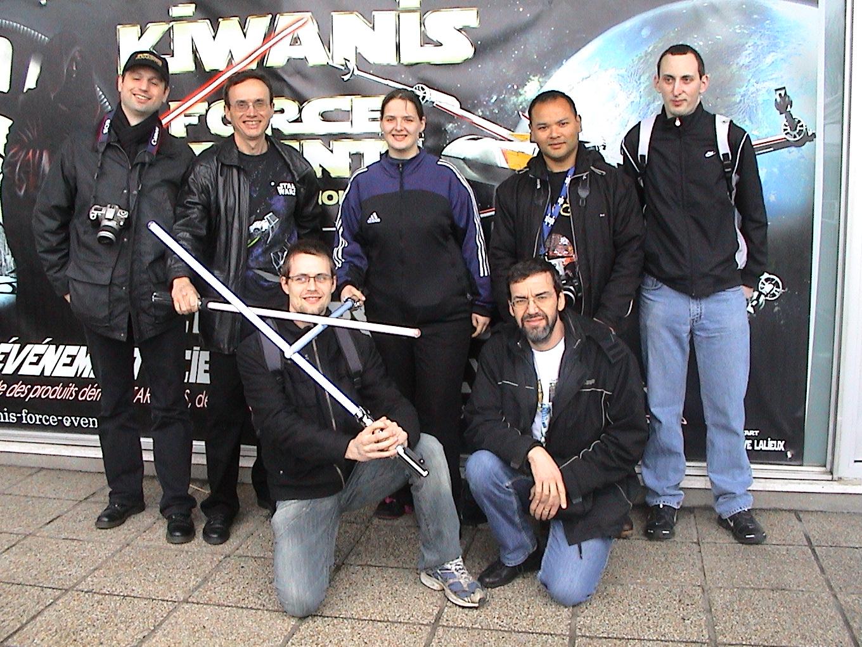 Photo 59 - Kardass, darkalain, jainasolo59, lancelot9100, Alpha13, Anakin07 et c3po75