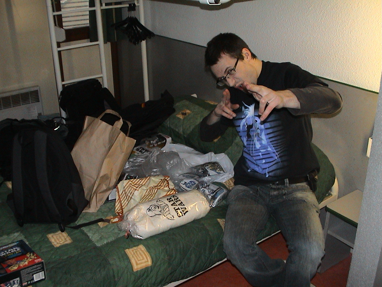 Photo 60 - Anakin07 déballe ses affaires.