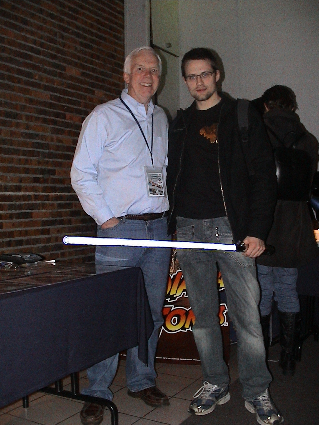 Photo 83 - Jeremy Bulloch (Boba Fett) et Anakin07