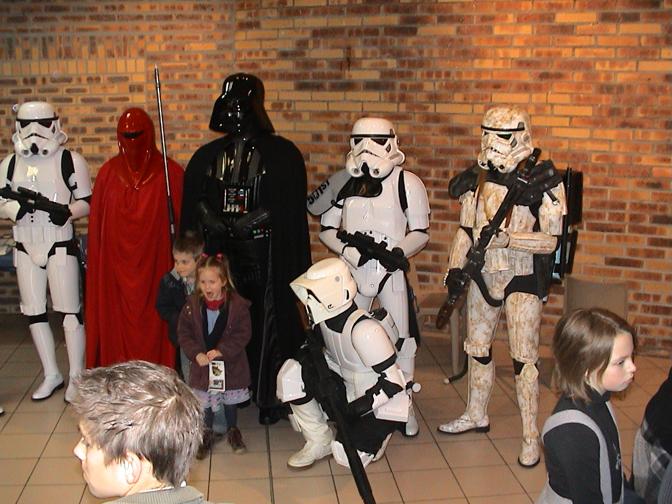 Photo 97 - Les enfants aiment l'Empire.