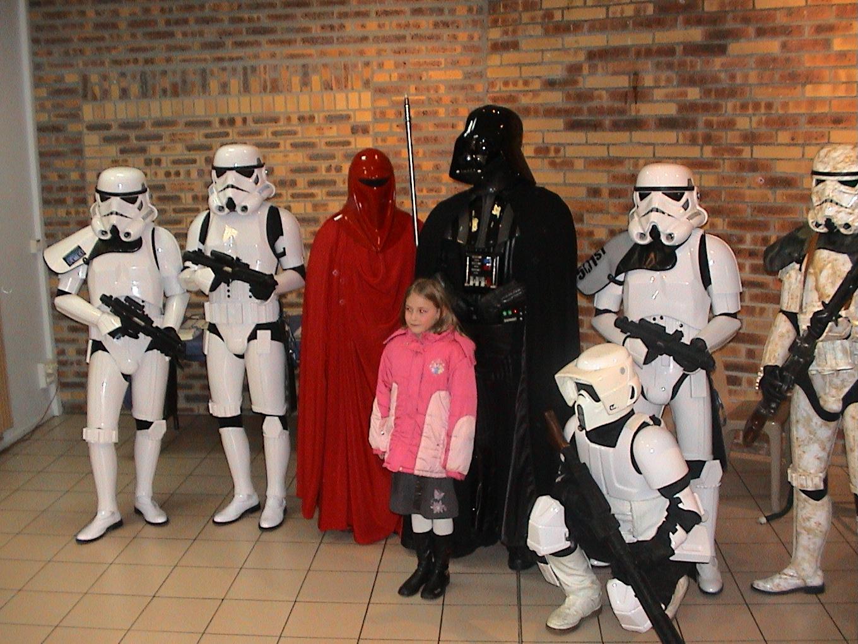 Photo 98 - Non, ce n'est pas la fille de Vader!