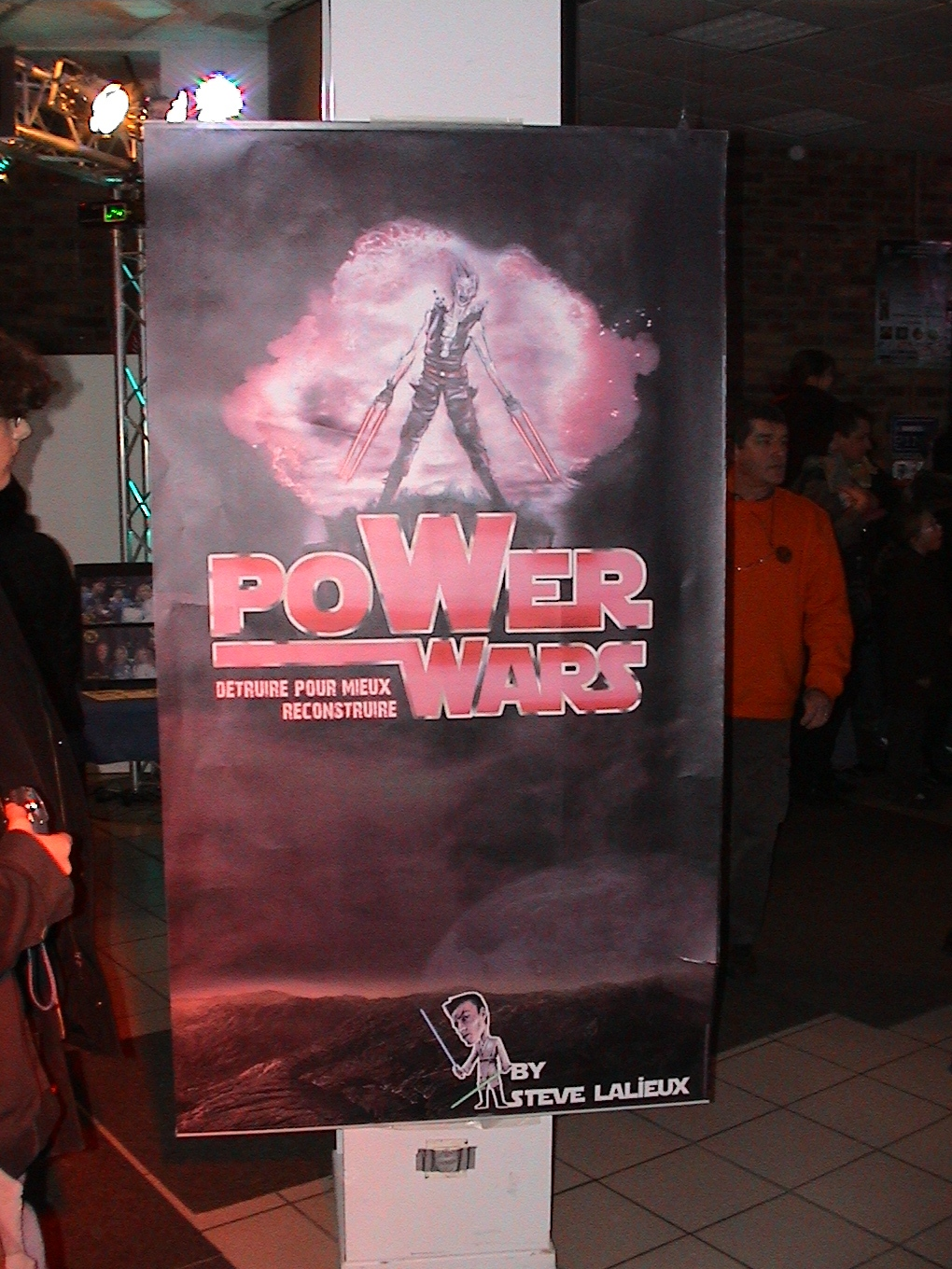 Photo 107 - L'affiche de Power Wars