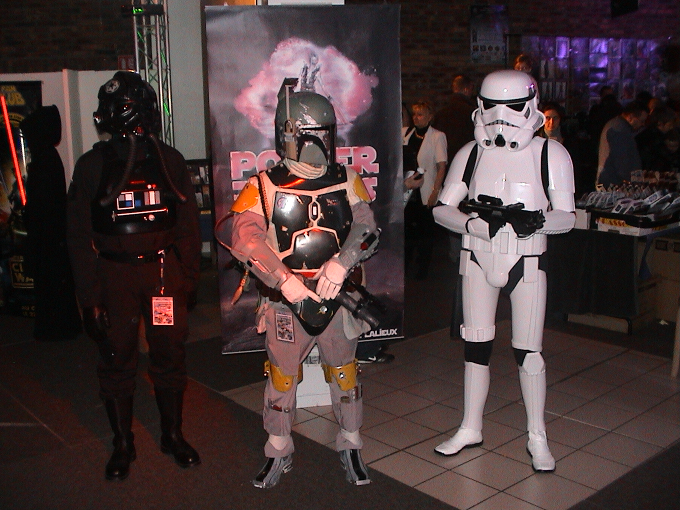 Photo 113 - Pilote TIE, Boba Fett et Stormtrooper...