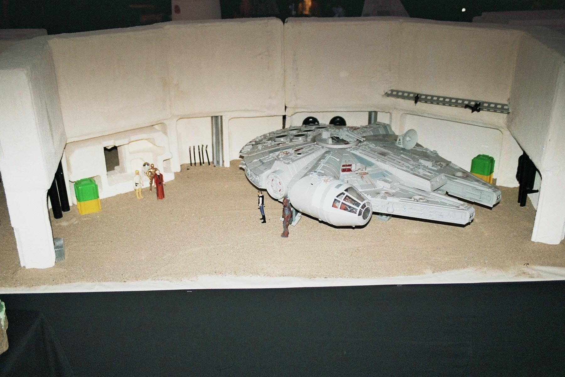 Photo 118 - Le Faucon sur Tatooine