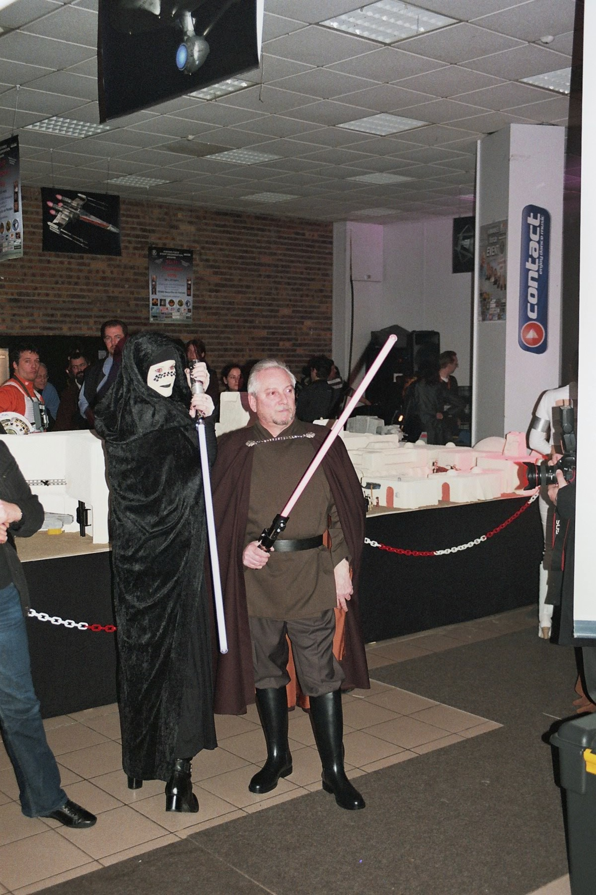 Photo 123 - Barriss Offee et Comte Dooku