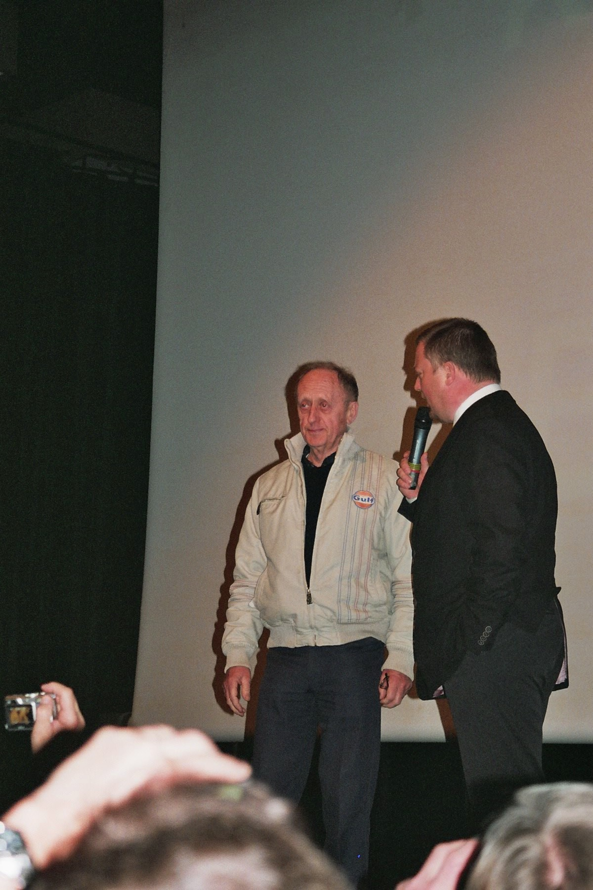 Photo 143 - Kenneth Colley (Amiral Piett) et Mark Dermul