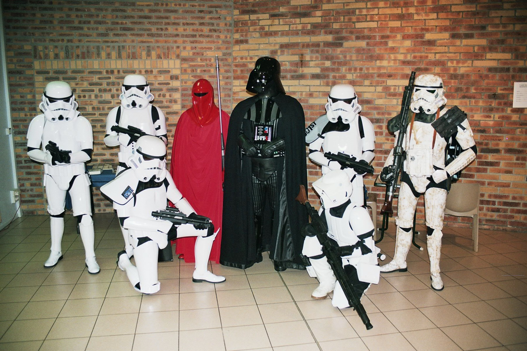 Photo 159 - Darth Vader et ses potes.