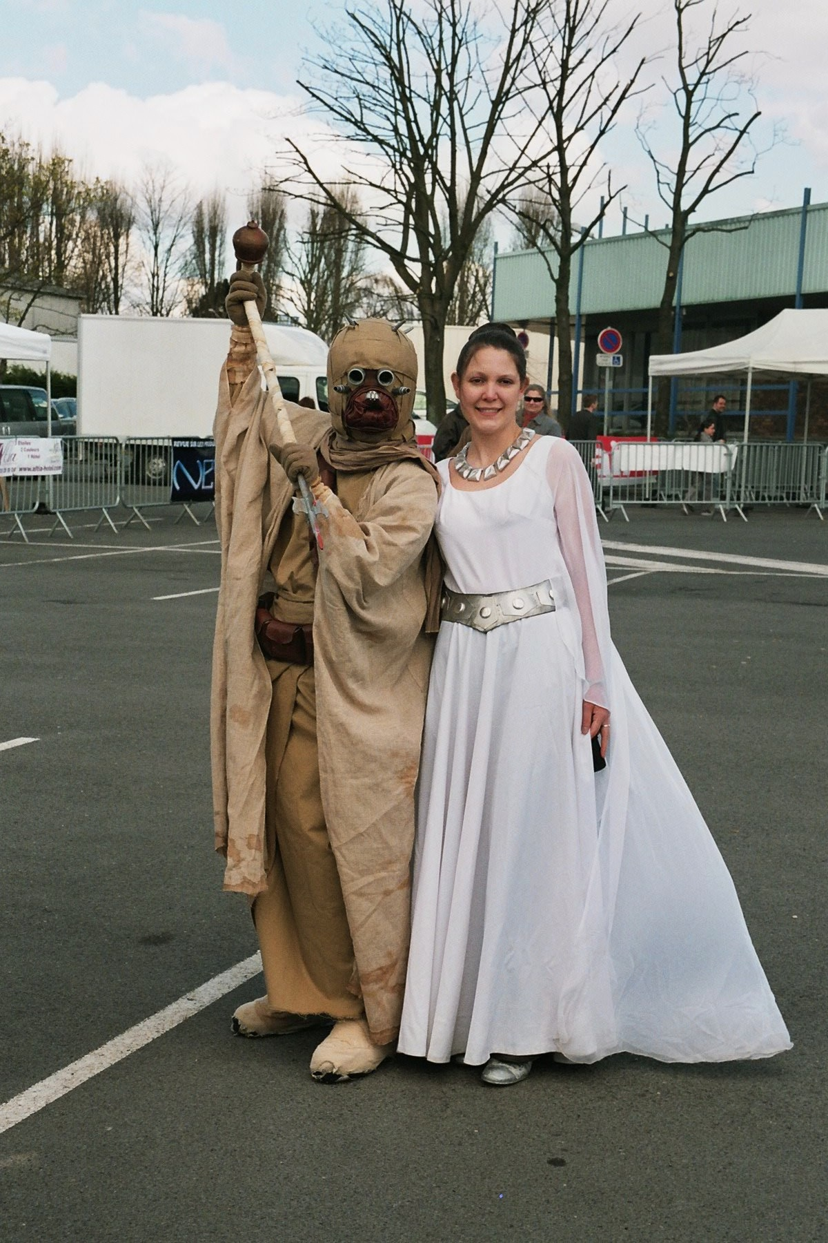 Photo 163 - Un Tusken et Leia