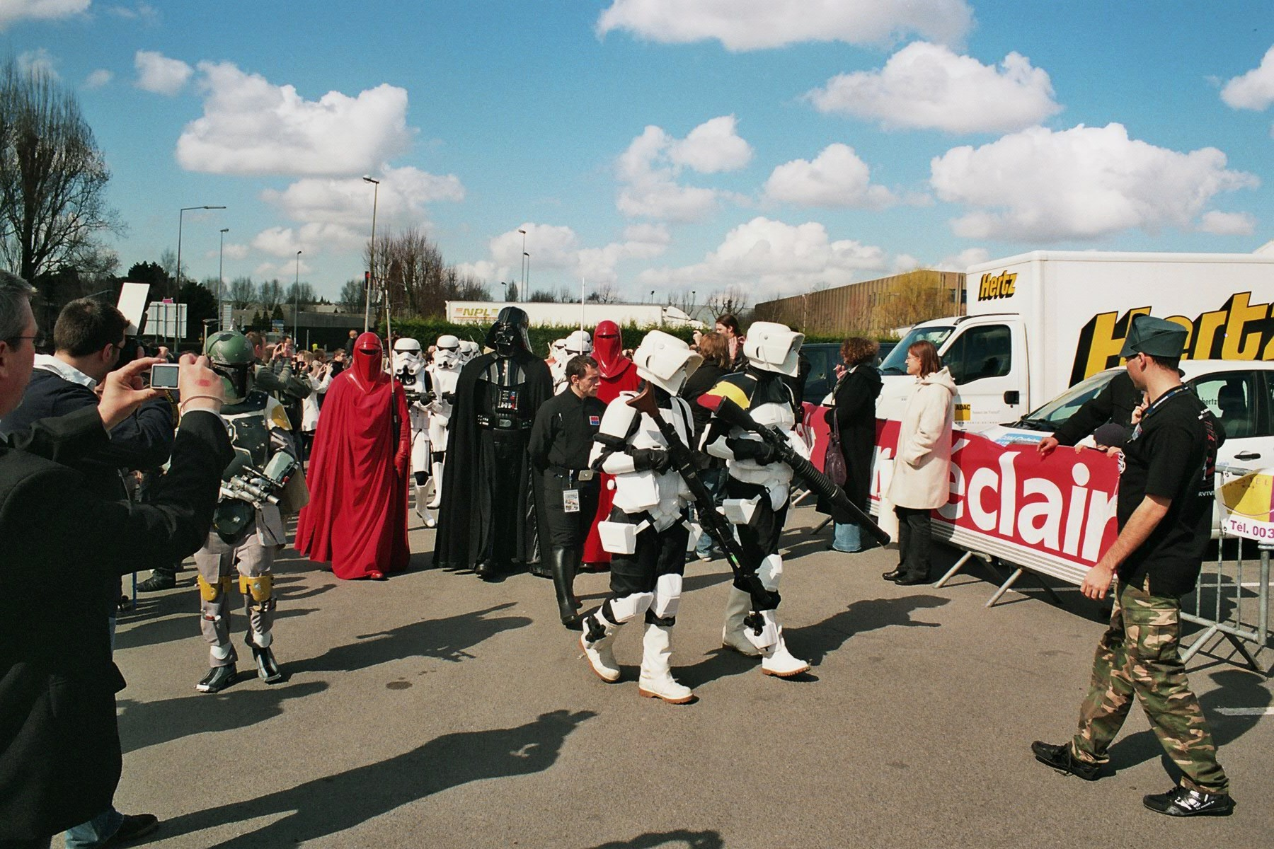 Photo 165 - Darth Vader parade