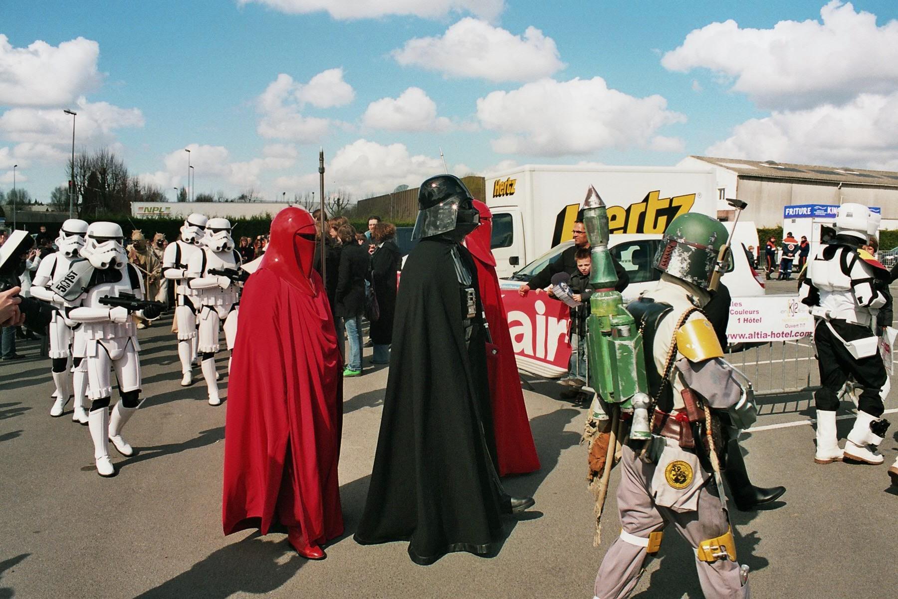 Photo 166 - Là où Vader passe...