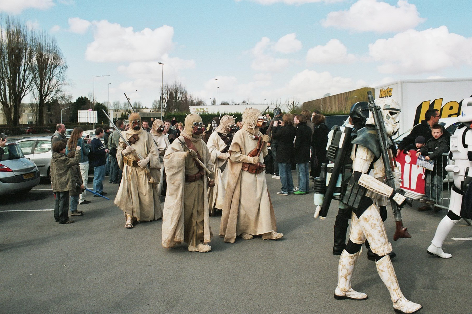 Photo 168 - Un troupeau de Tusken, lol!