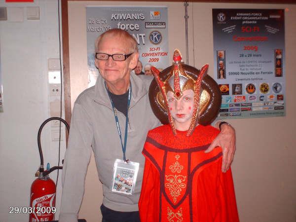 Photo 179 - Rober Watts et une jeune Reine Naboo