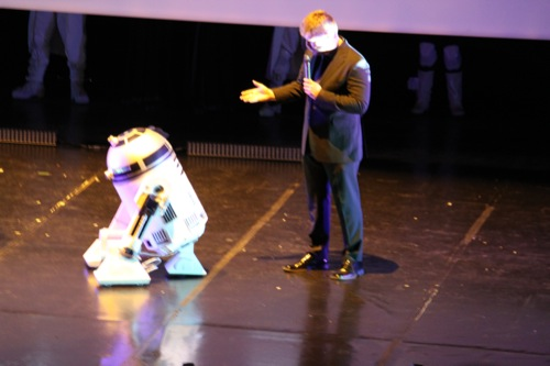 Photo 4 - Le message de R2D2