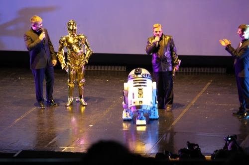 Photo 17 - Le discours de Mark  Hamilll