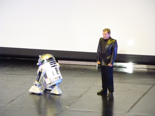 Photo 35 - R2D2 et Mark Hamill