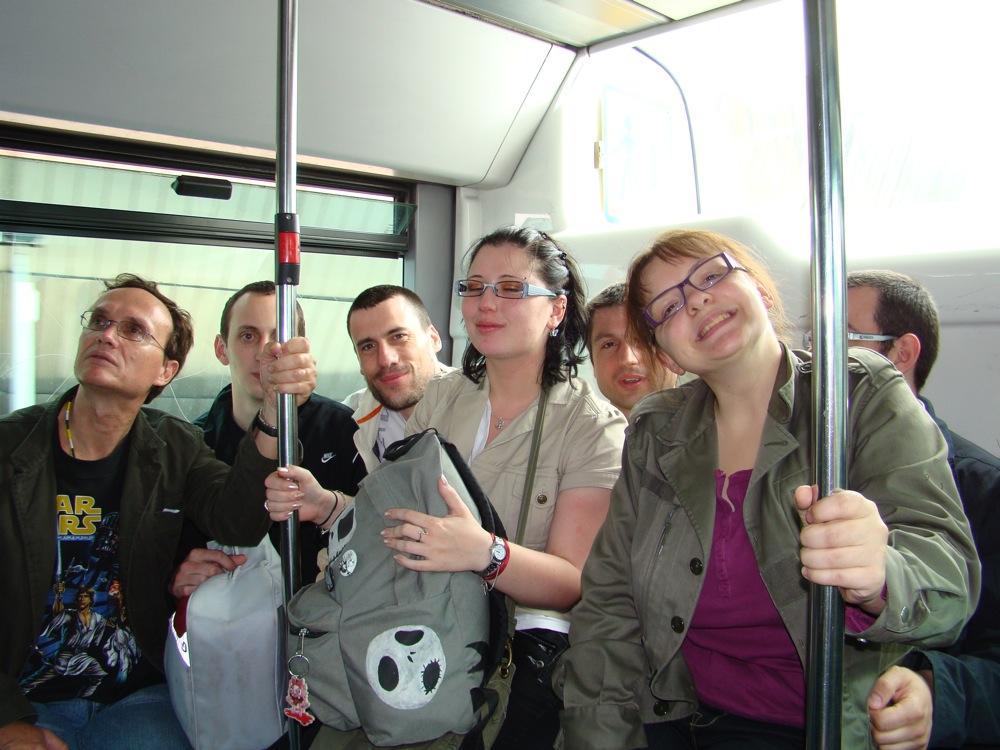 Photo 22 - darkalin, Alpha13, Joruus29, AngeSolo, Kardass, Padmeia et boba.fett7 dans le bus