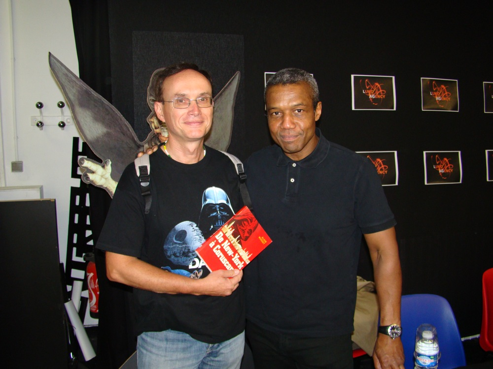 Photo 68 - Darkalain et Hugh Quarshie (Panaka)