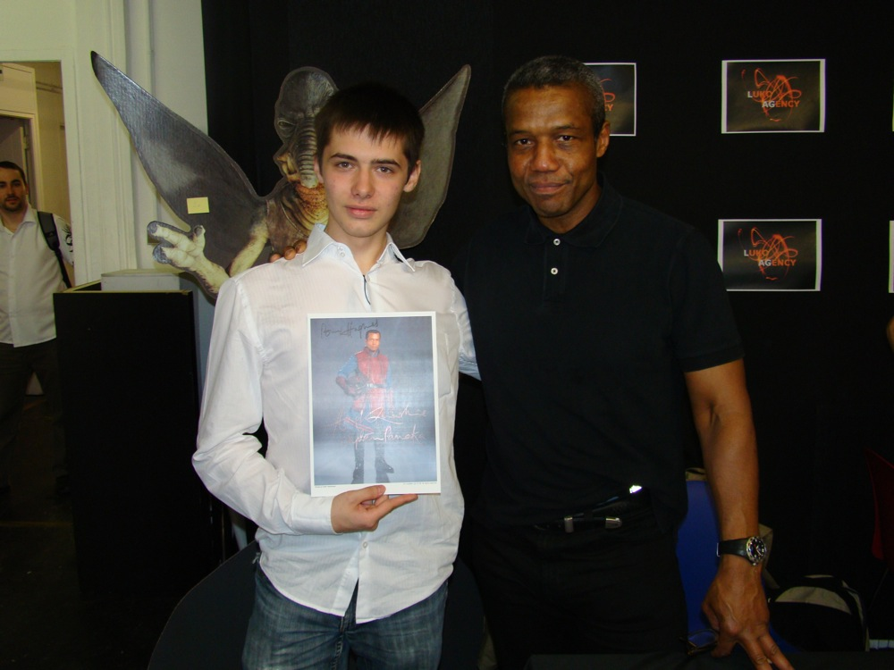 Photo 70 - Huge et Hugh Quarshie (Panaka)