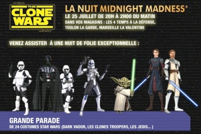 Midnight Madness, Paris