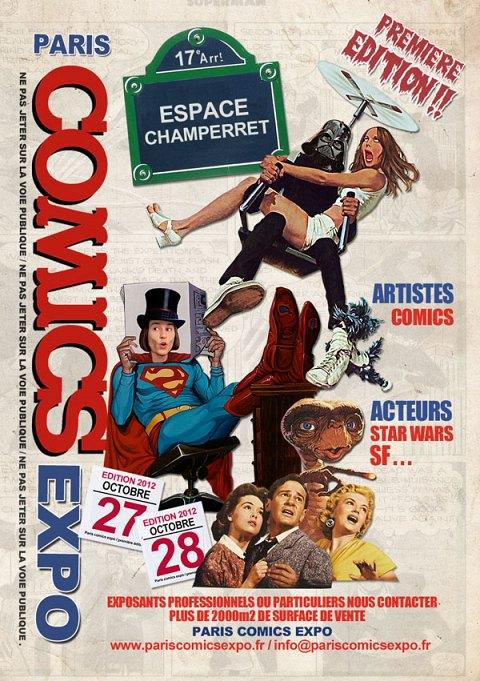 Paris Comics Expo, Sortie AW