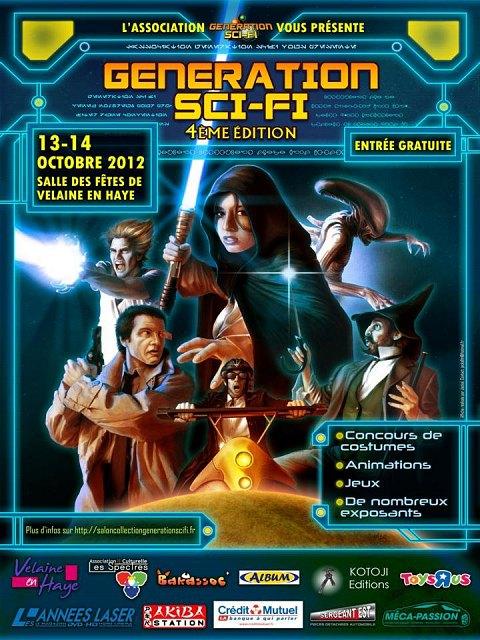 Salon collections Génération sci-fi  2012