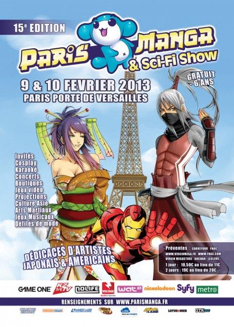 Paris Manga 15