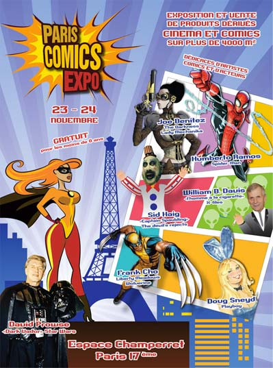 Paris Comics Expo 2013