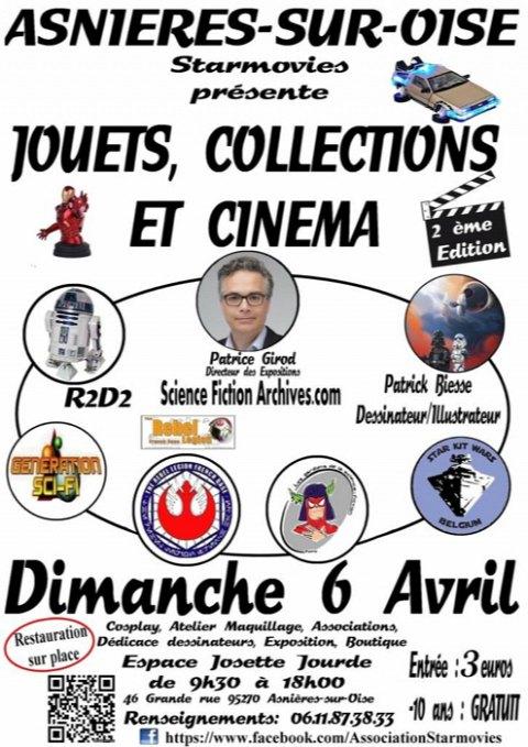 <Jouets, Collections et Cinéma 2014