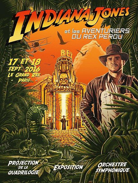 Indiana Jones et Les Aventuriers du Rex Perdu avec Planète Star Wars