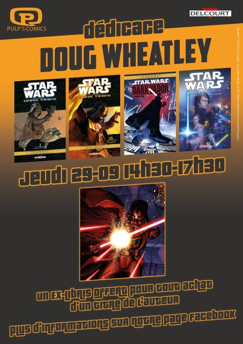 Doug Wheatley chez Pulp's