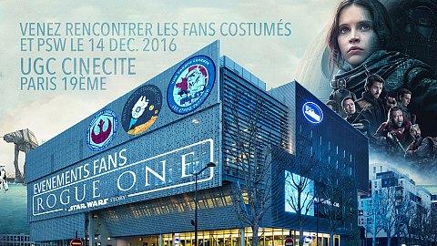 PSW et les fans costumés à l'UGC Paris 19ème
