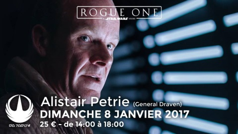 Alistair Petrie (General Draven) chez Pulp's