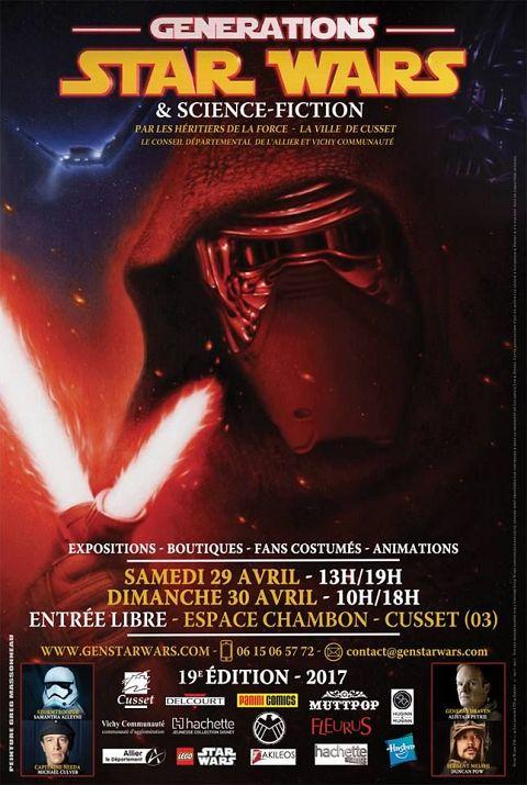 <Générations Star Wars & Science-Fiction