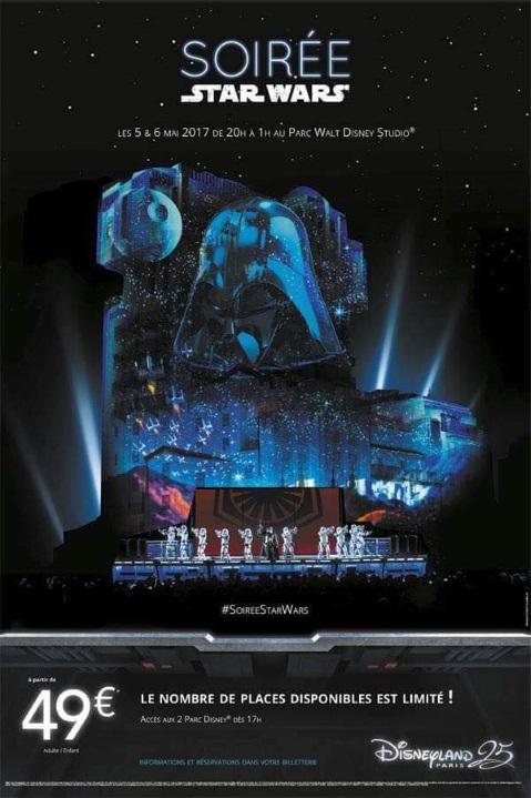 Soirée Star Wars à Disneyland