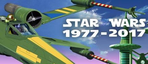 Expo Star Wars 1977-2017 au Festival Européen du Film Fantastique de Strasbourg